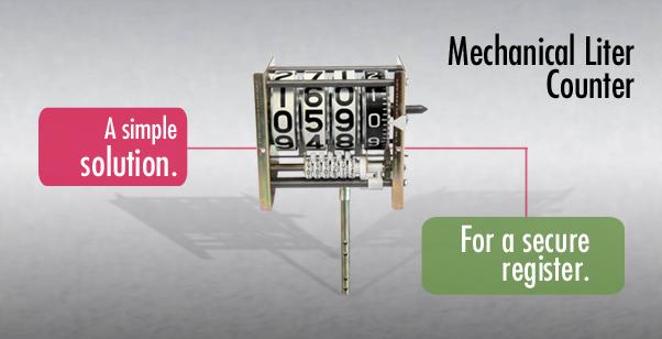 Mechanical Liter Counter   Veeder-Root