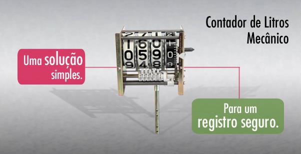 Contador de Litros Mecânico Veeder-Root