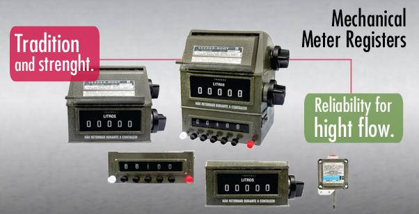 Mechanical Meter Registers   Veeder-Root