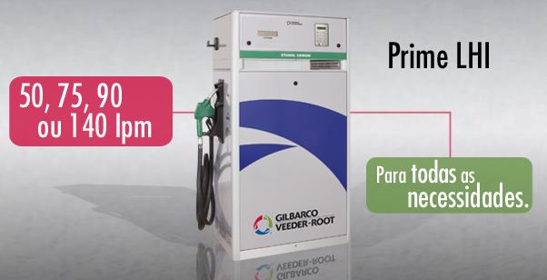 Prime LHI | Bomba de combustível eletrônica para uso industrial/consumo