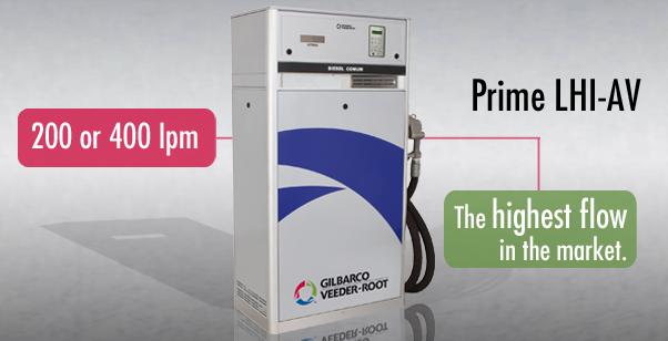 Prime LHI-AV - High Flow | LH Electronic fuel pump for commercial & industrial