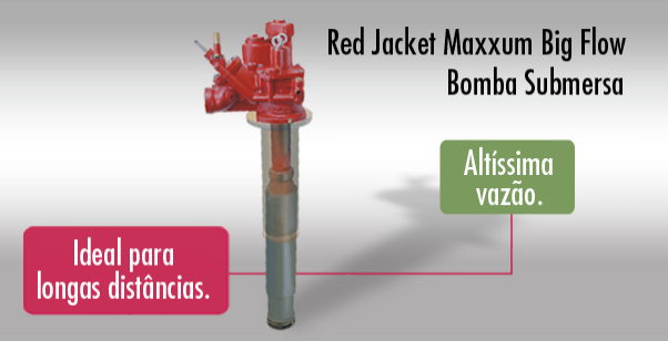 Red Jacket Maxxum Big Flow | Bomba submersa de altíssima vazão