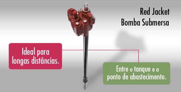 Red Jacket | Bomba de combustível submersa para diversas aplicações