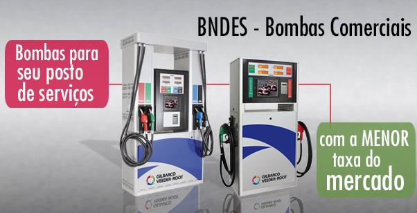 Financiamento BNDES bombas comerciais