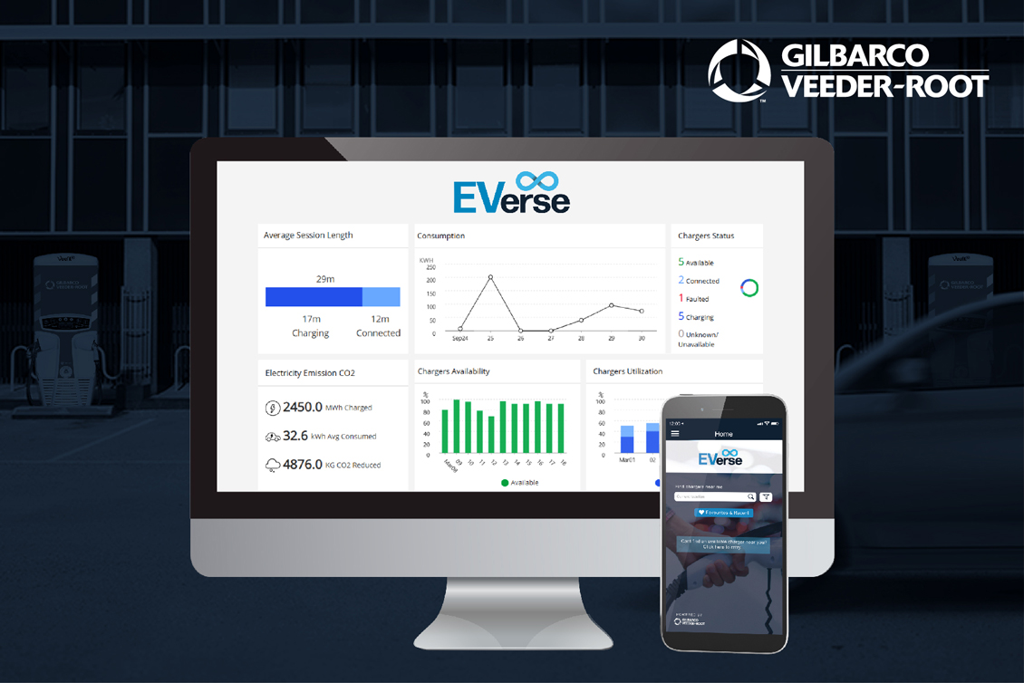 view of the everse platform on mobile and desktop