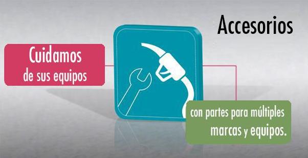 Accesorios de productos de Gilbarco Latinamerica
