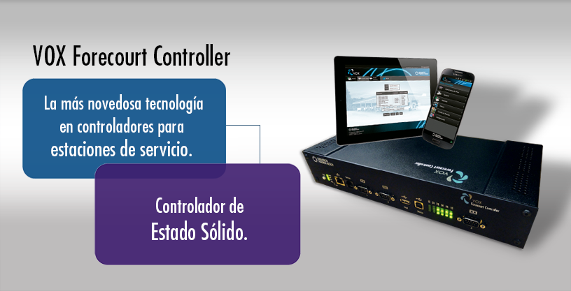 Vox-Forecourt-Controller-controlador-playa-pista-combustible