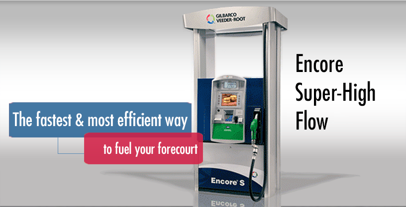 Encore Ultra Hi Fuel Flow Gilbarco Latinamerica