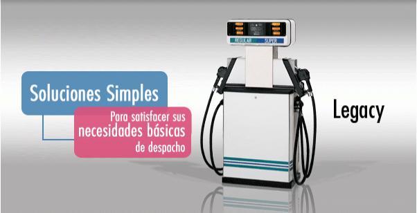 What Is Flex Fuel >> Surtidores y Dispensadores de combustible Legacy | Gilbarco Veeder-Root
