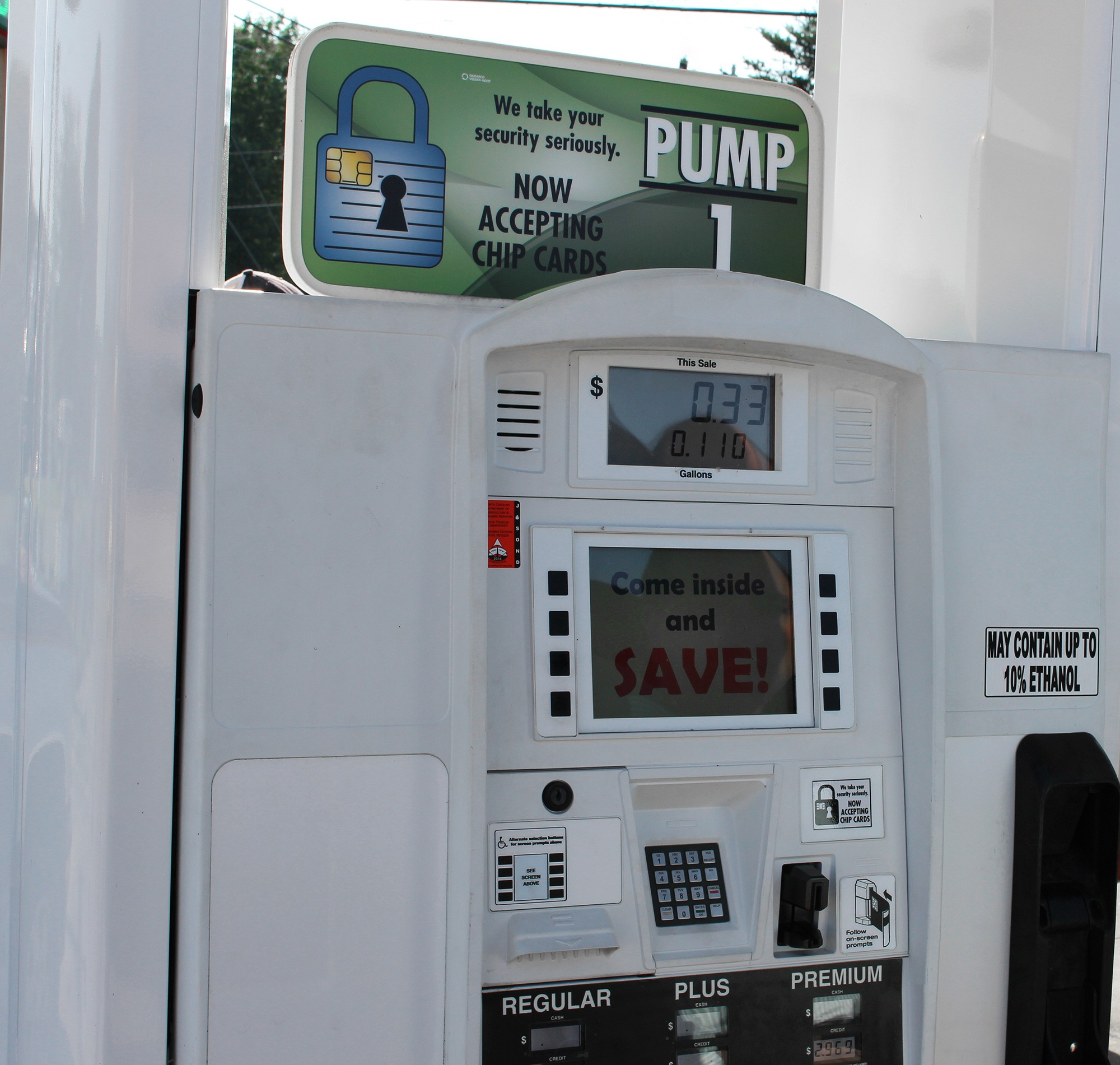 Fuel Dispenser EMV