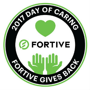 Fortive day of caring logo