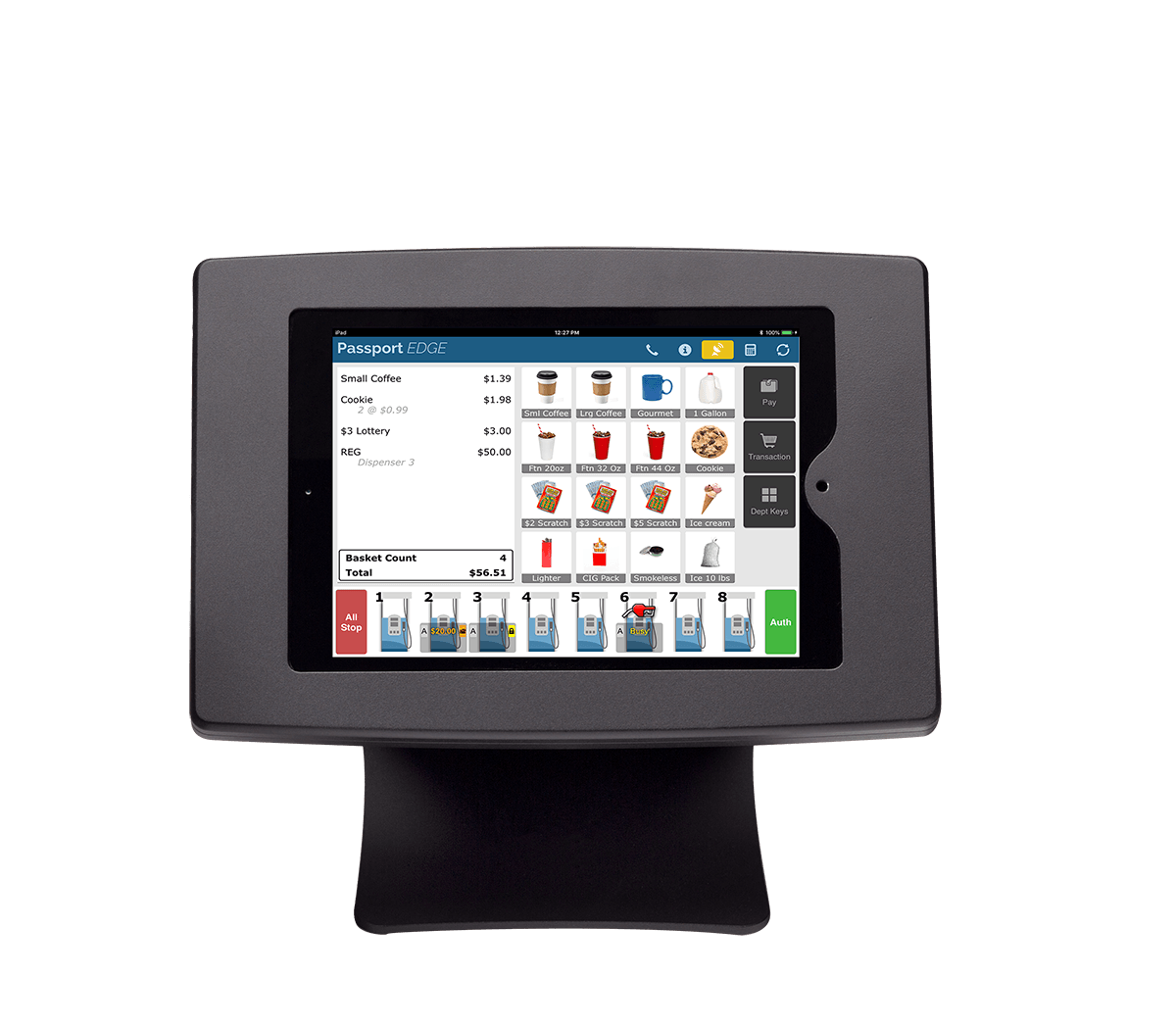 passport edge point of sale